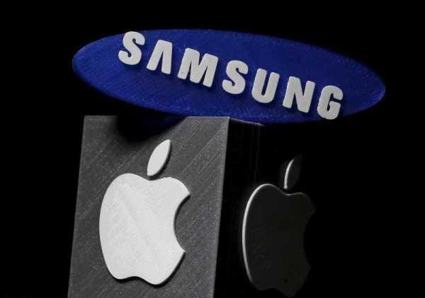 Samsung and Apple