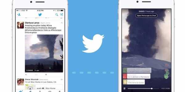 Twitter Live Broadcasting of Videos