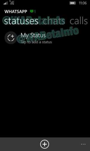 WhatsApp Updated Status icon