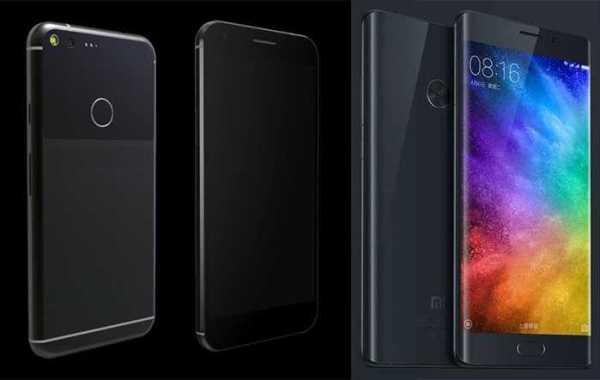 Xiaomi Mi Note 2 vs Pixel XL Comparison