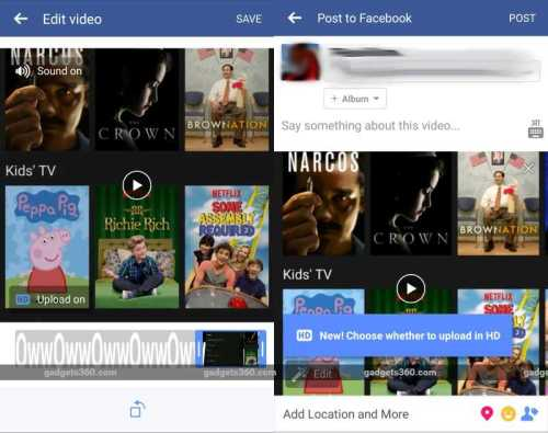 facebook slideshow Test