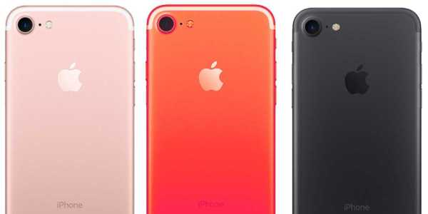 iPhone 7S Come with New Red Color