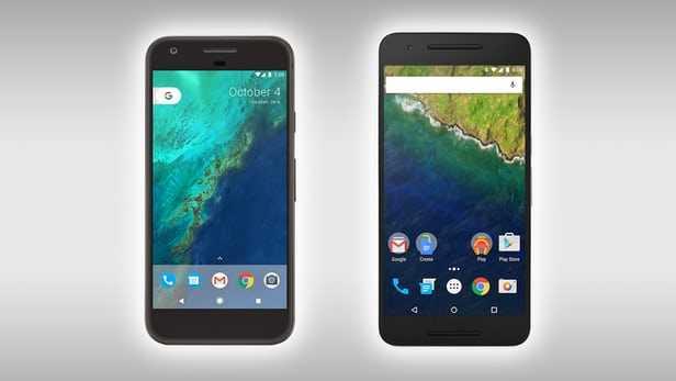 Google Pixel XL and Nexus 6P