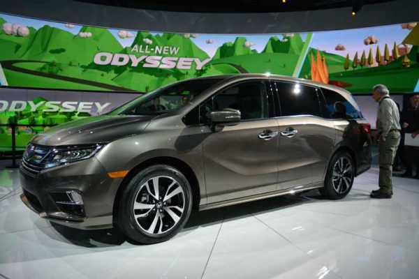 2018 Honda Odyssey Minivan Specs