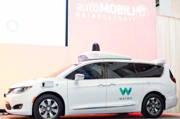 Google Self-Driving Minivan 2017