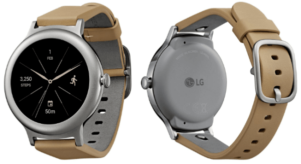 LG Watch Style in silver