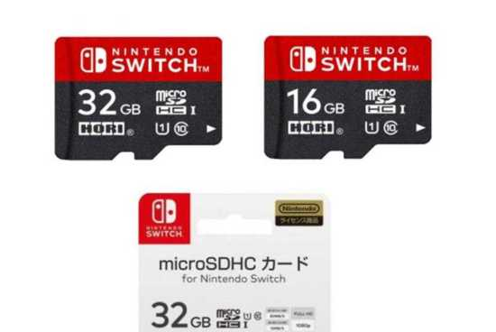 Nintendo Switch 32 GB SD card