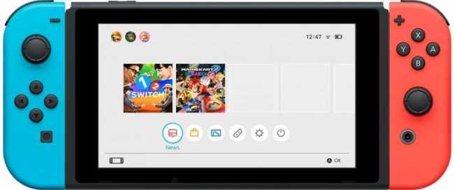 Nintendo Switch Battery
