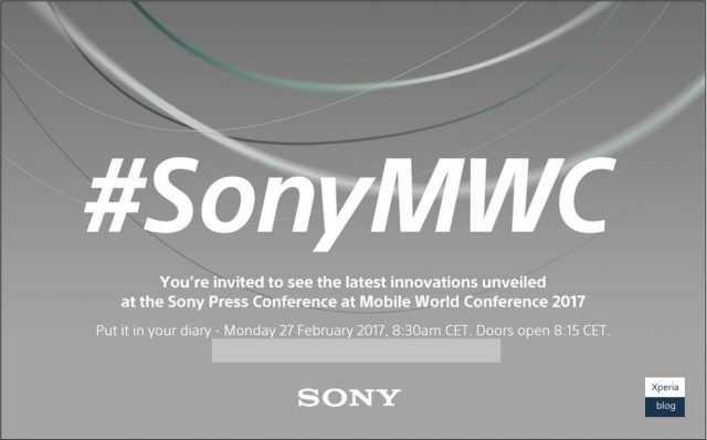 Sony MWC 2017