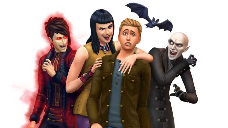 The Sims 4 Vampires Game Pack