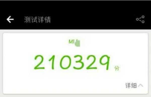 XiaomiMi 6 Scores on AnTuTu