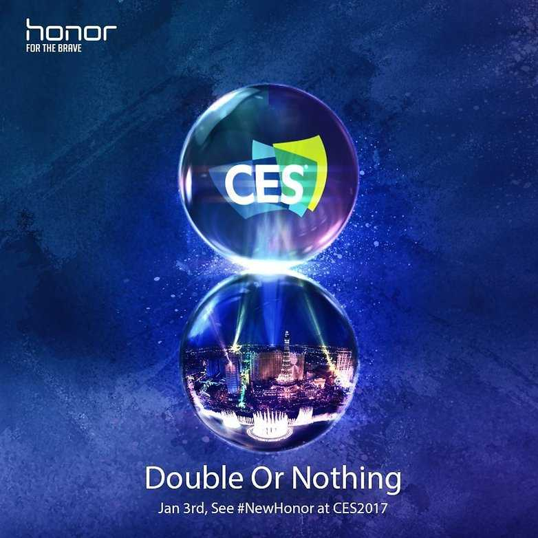 Huawei Honor Phone at CES 2017