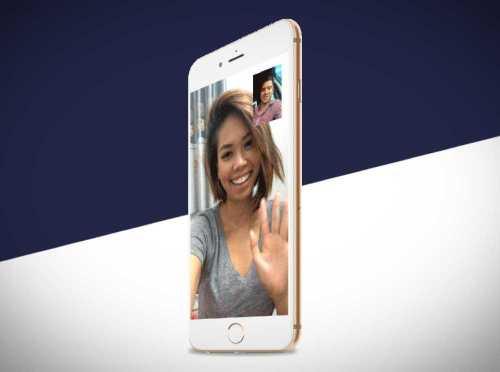 iOS 11 concept FaceTime