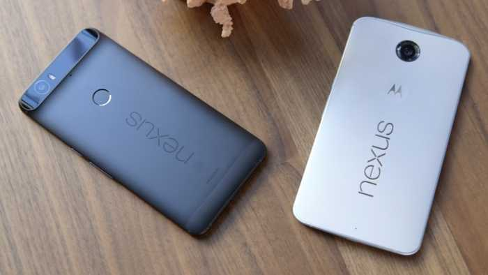 Google Nexus 6 and Nexus 6P