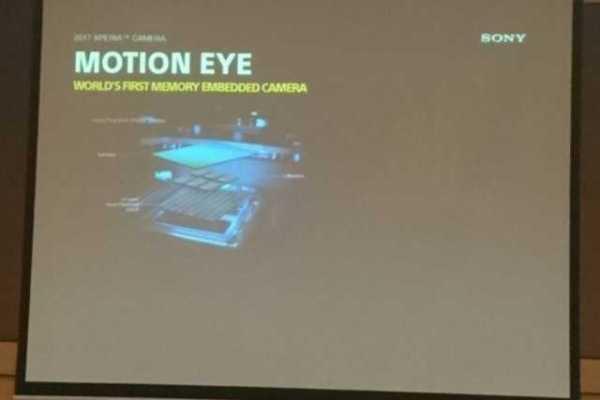2017 Xperia Camera Motion Eye