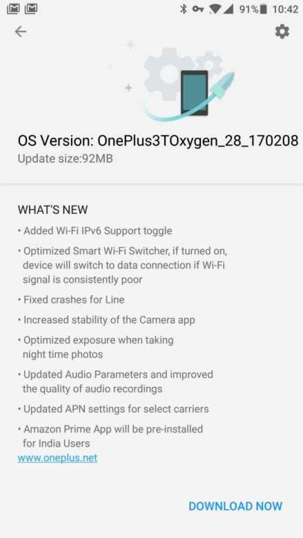 OnePlus 3 and 3T OxygenOS 4.0.3