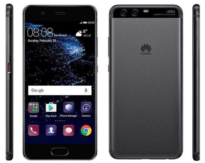 Samsung Galaxy S8, LG G6 and Huawei P10