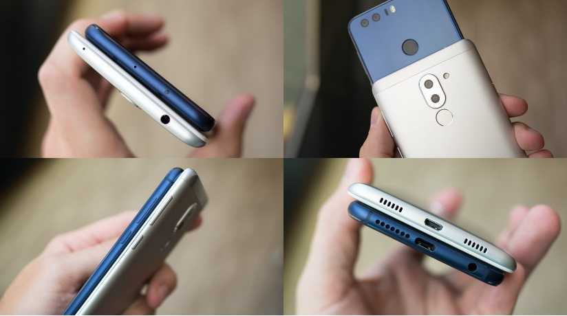 Huawei Honor 8 vs Huawei Honor 6X