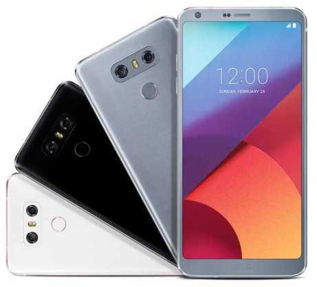 LG G6 colors leak