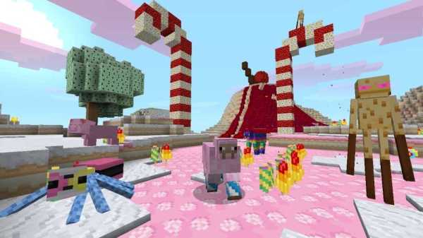 Minecraft Pocket Edition Candy Texture Pack