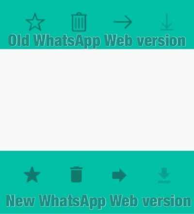 WhatsApp Web 0.2.3571 new UI
