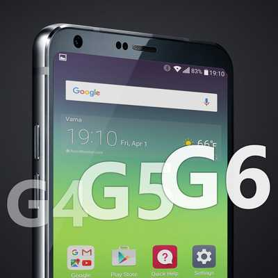 LG G4 vs LG G5 vs LG G6