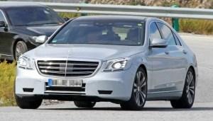 Mercedes Benz S-Class W222 Facelift