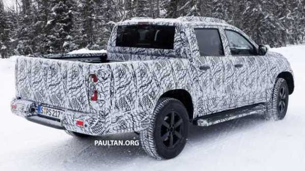 Mercedes Benz X Class Spy Photos