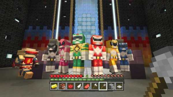 Minecraft Receives Power Ranger Pack