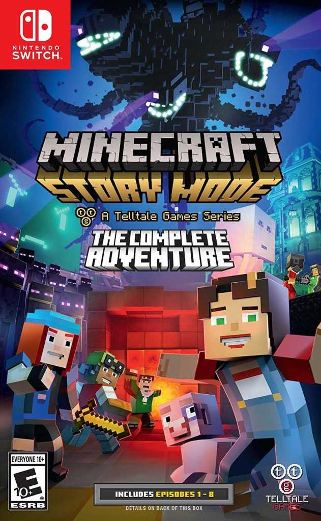 Release Date and Box Art for Minecraft : Story Mode on Switch Leaked
