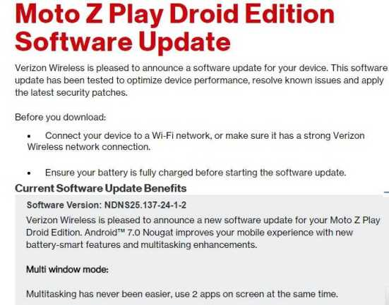 Moto Z Play Droid