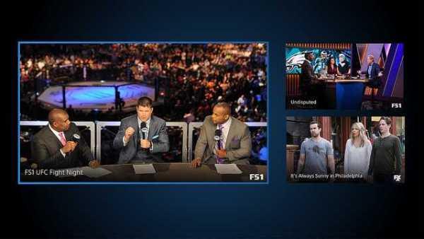 PlayStation Vue Multiple Channels