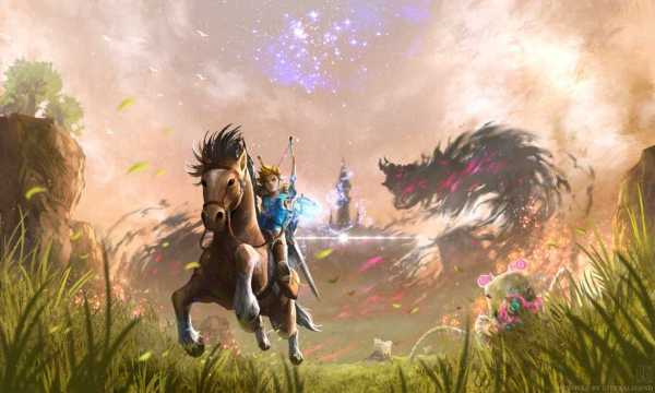 The Legend of Zelda Breath of Wild