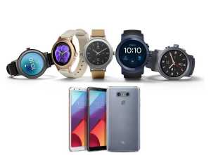 LG G6, LG Watch Sport and LG Watch Style