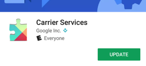 Google Carrier Services