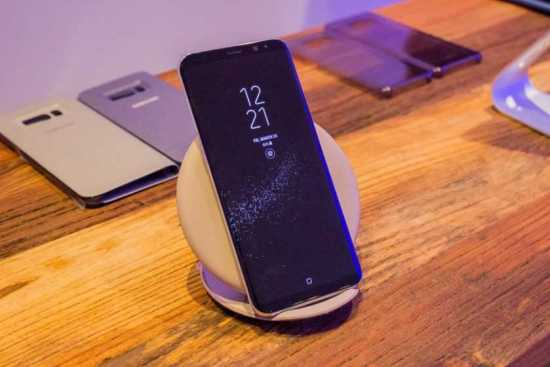Galaxy S8 and S8 Plus Wireless Charging