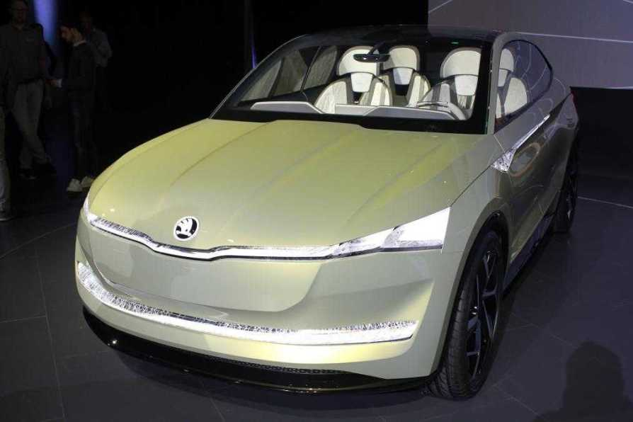 Skoda Vision E Concept Model