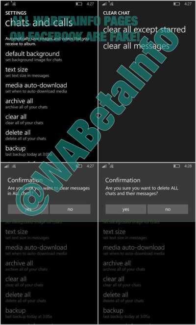 WhatsApp for Windows Phone