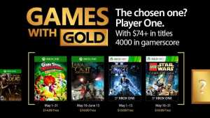 Xbox Live Games with Gold