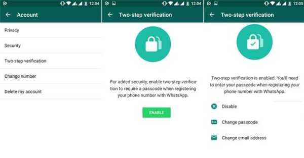 whatsapp Two-Factor Verification
