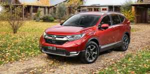 Honda CR-V Turbo 2017