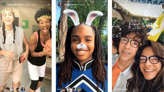 Instagram Adds AR Selfie Filters : Copycatting Snapchat