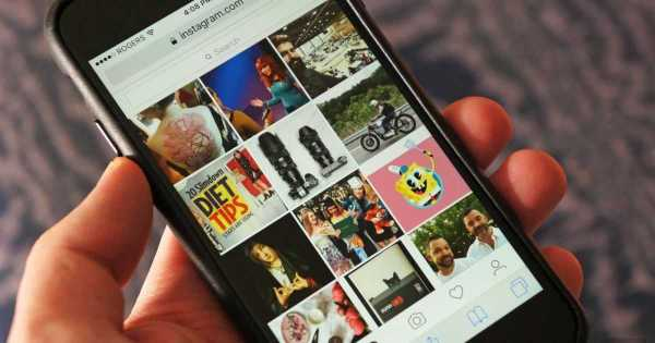 Instagram Mobile Site