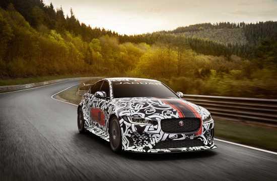 Jaguar XE SV Project 8 Unleashes