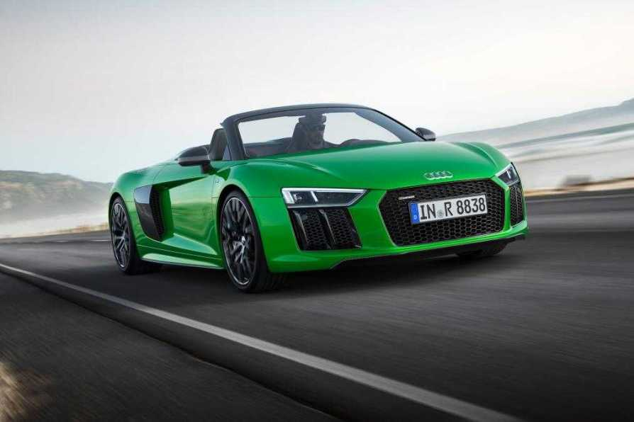 Audi R Spyder With V Plus Engine Delivers Hp And Mph Top - Audi r8 top speed