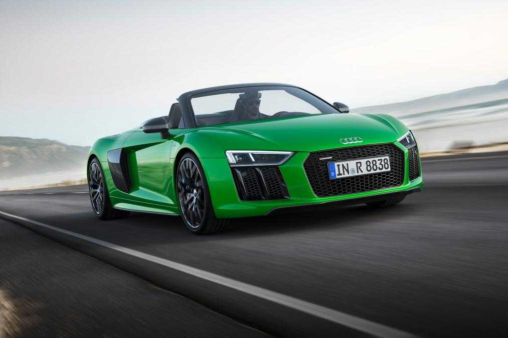 Audi Is Going Unabated As The Automobile Brand Recently Came Up With A Drop  Top Supercar, The R8 Spyder V10 Plus.