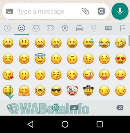 WhatsApp Search Emojis