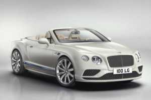 2017 Bentley Continental GT Convertible front