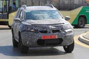 2018 Dacia Duster SUV summer