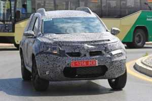 2018 Dacia Duster SUV summer